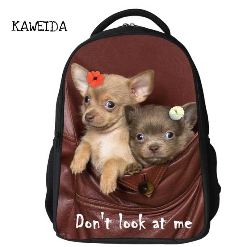 Милый питомец Мопс Печатный подростковый школьный рюкзак сумка Собака Кошка Животное ортопедический школьный рюкзак для мальчиков девочек пользовательское имя рюкзак большой