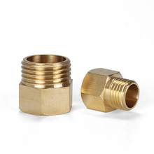 Copper M/F ,1/4, 1/2 M14*1.5, M20*1.5 Male to Female Threaded Brass Coupler Adapter Pipe Fitting
