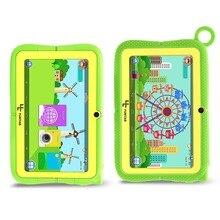 Yuntab 7 inch Q88R 4 цвета Дети планшетный ПК Android 4.4 HD 1024*600 Дисплей, родительский Управление iwawa программного обеспечения с шикарным Стенд чехол