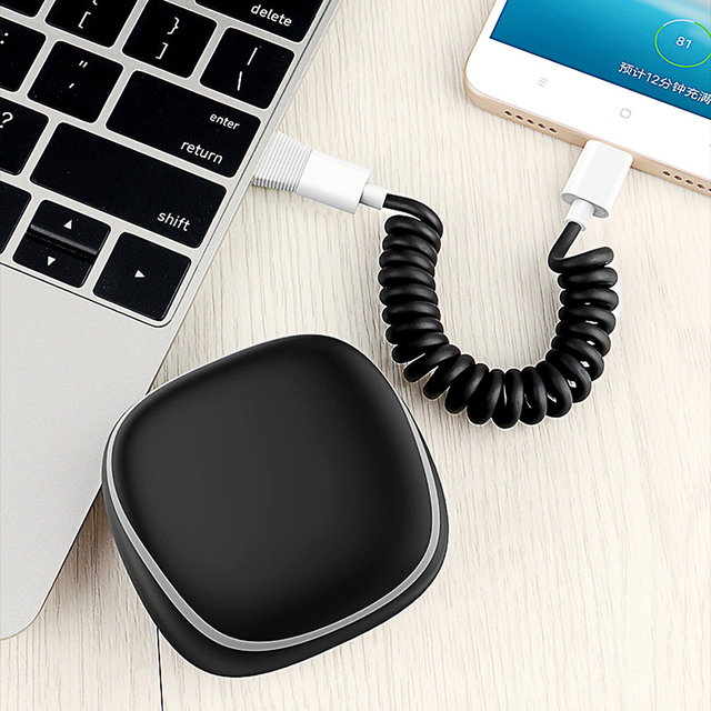 Mini Portable Charger Power Bank For iPhone, Type C, Micro USB