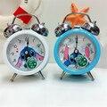 Новинка 2018  часы Disney Stitch с 3d-рисунком  модный синий  белый колокольчик с будильником для мальчиков и девочек  студенческий будильник для детс...