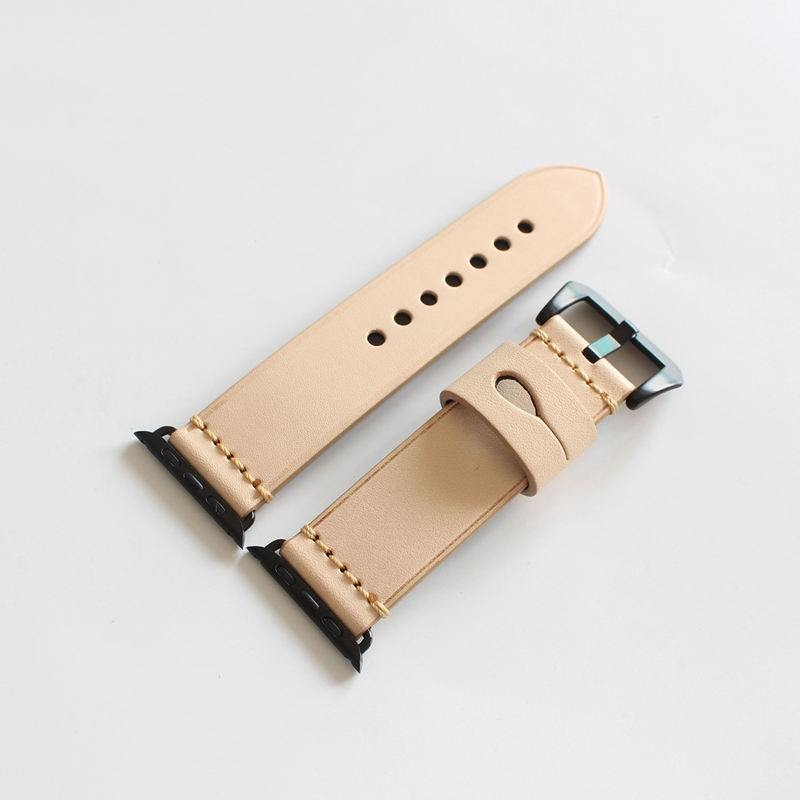 Fashion High Quality The New Genuine Leather 38/42MM Width For Apple Watch Strap Band For iwatch men women Watches Accessories  high quality black color leather 38 42mm width apple watch strap band for apple watches