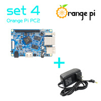 Orange Pi PC2 set 4 : Orange Pi PC2 + Power Supply Run Android 4.4, Ubuntu, Debian Image