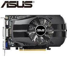 ASUS видео карта оригинальный GTX 750TI 2 ГБ 128bit GDDR5 Видеокарты для NVIDIA GeForce GTX750Ti использовать карты VGA HDMI DVI распродажа