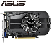 ASUS Video Card Original GTX 750Ti 2GB 128Bit GDDR5 Graphics Cards for nVIDIA Geforce GTX750Ti  Used VGA Cards Hdmi Dvi On Sale