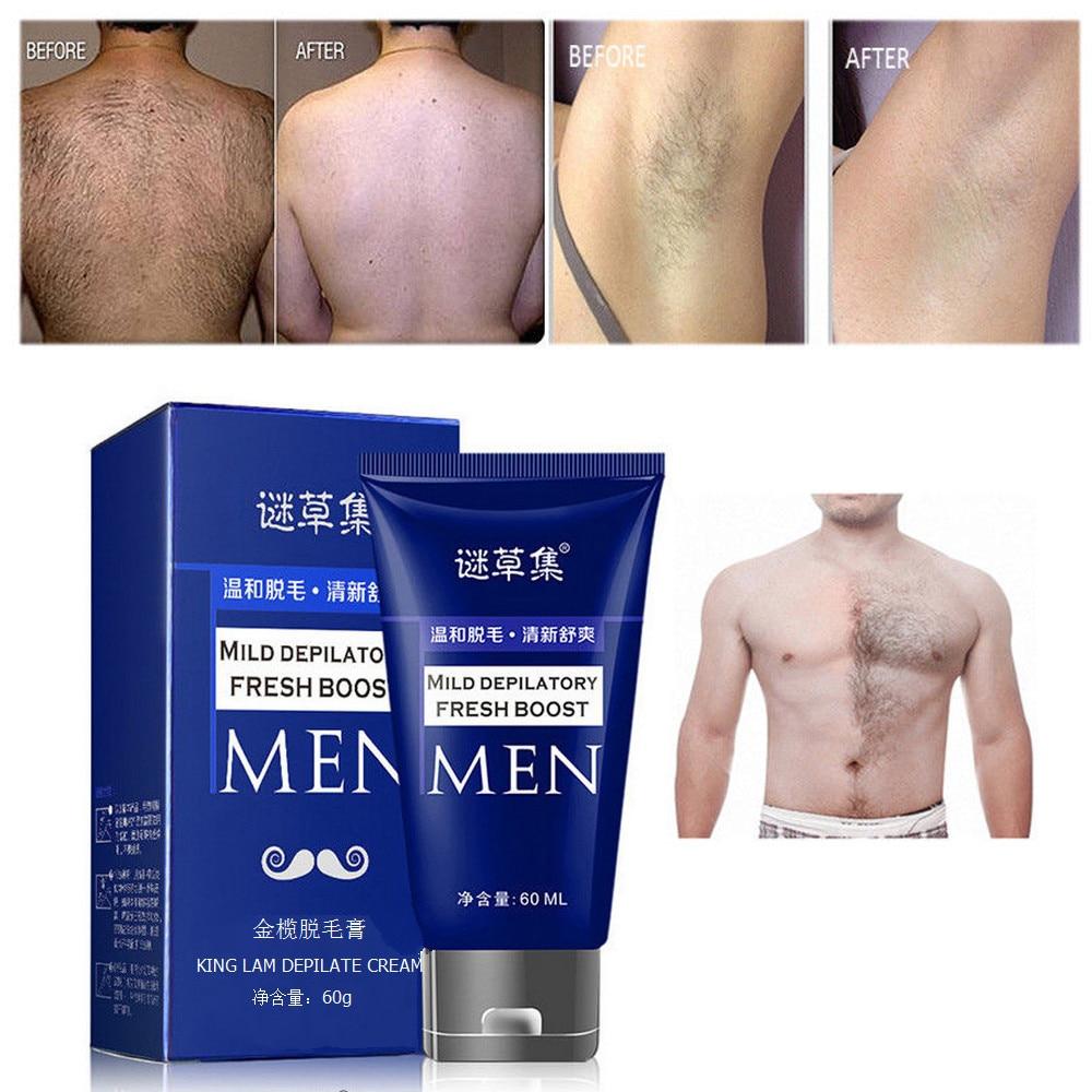 60g Organic Depilatory Cream Natural Plant Depil Hair Removing Cream For Women And Men Hair Removal Epilator  #Zer