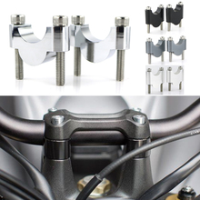 For Kawasaki Brute Force Prairie KFX 400 700 Motorcycle CNC Billet Aluminum 7/8 22mm Fat Bar Handlebar Risers Mount Riser