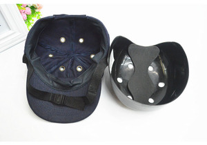 Image 5 - عثرة قبعة العمل خوذة أمان ABS الداخلية شل قبعات بيسبول نمط واقية قبعة صلبة لملابس العمل رئيس حماية أعلى 6 ثقوب