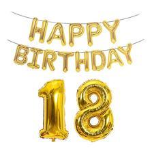Rose gold 40 inches large Numbers aluminium film balloons birthday suit so decorative aluminum foil