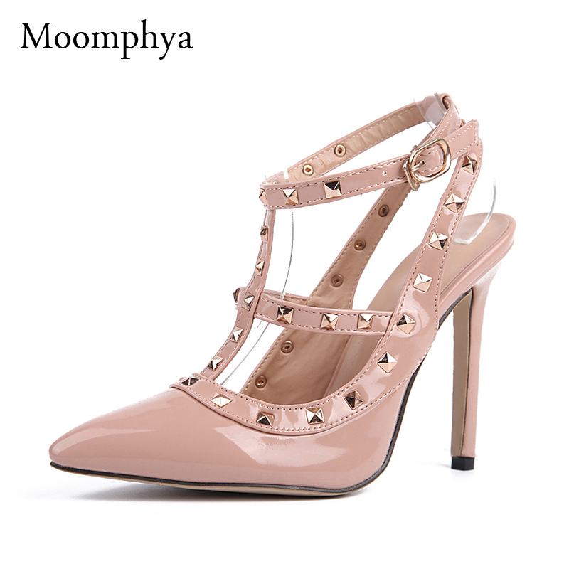Aliexpress.com : Buy Moomphya Women High heels shoes woman Ladies ...