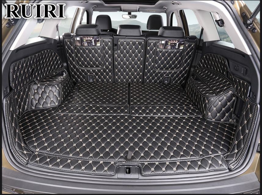 Anthracite Carpet Insert Fully Tailored PVC Boot Liner//Mat//Tray carmats4u To fit KODIAQ 7 seats 2016