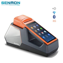 V1s Free SDK Android 6.0 Mobile POS Thermal Printer Handheld POS Terminal Wireless Bluetooth bar code Scanner Wifi Android PDA