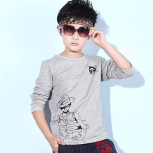 Children's clothing 2016 fall boy's fashion new long sleeved T-shirt