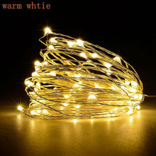 10M 33ft 100led 5V USB powered outdoor Warm white/RGB lights