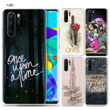 Case for Huawei P30 P20 P10 P9 Mate 10 20 Lite Pro Mobile Cell Phone Bag P Smart Z 2019 Plus Once Upon A Time P8 P30Pro P20lite(China)