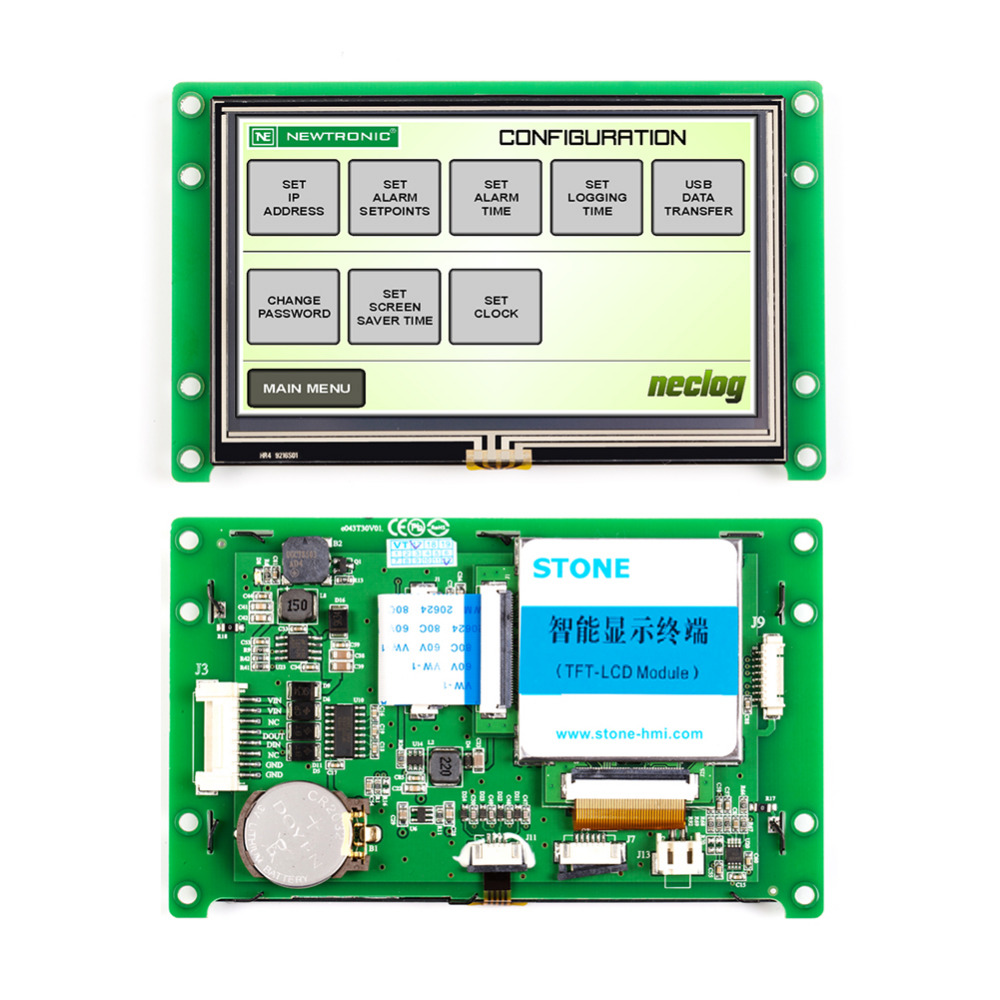 STONE TFT LCD Module With RS232/RS485/TTL PortSTONE TFT LCD Module With RS232/RS485/TTL Port