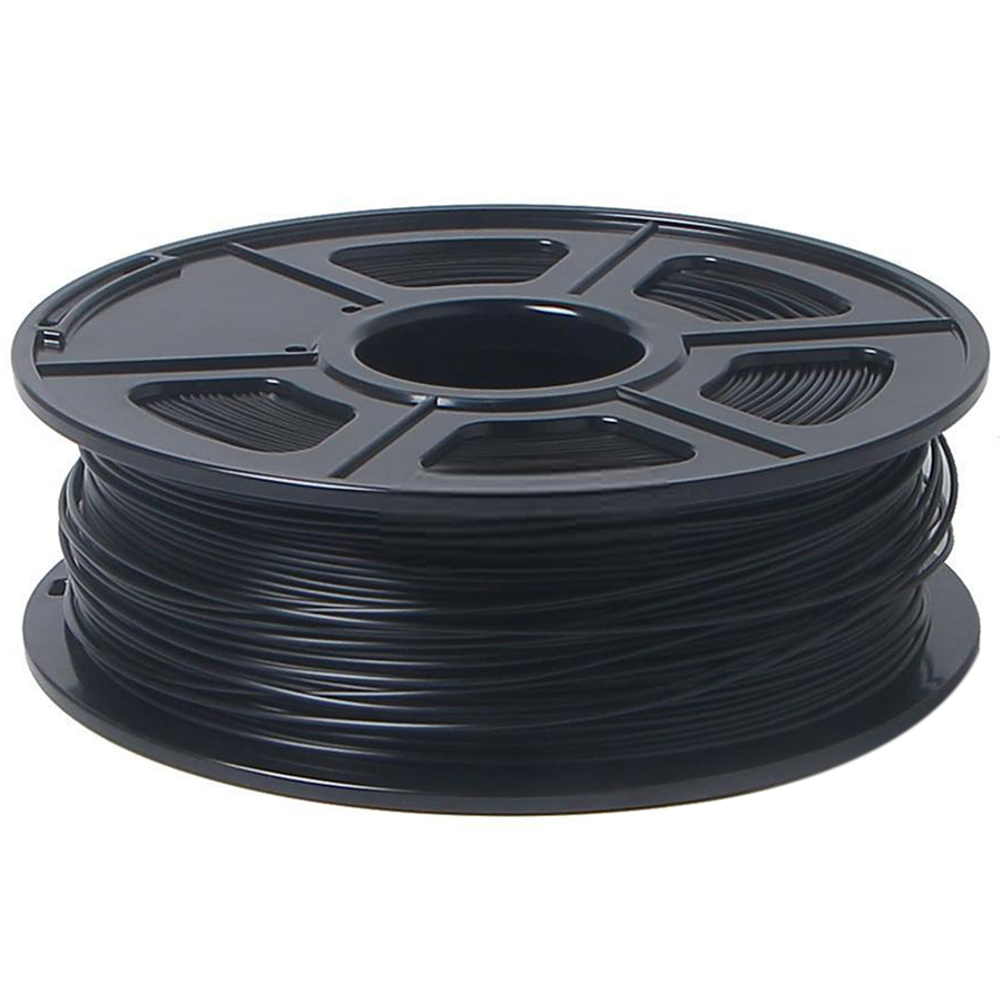 3D Printer Filament 1kg/2.2lb 1.75mm PLA Plastic for RepRap Mendel black flsun 3d printer big pulley kossel 3d printer with one roll filament sd card fast shipping