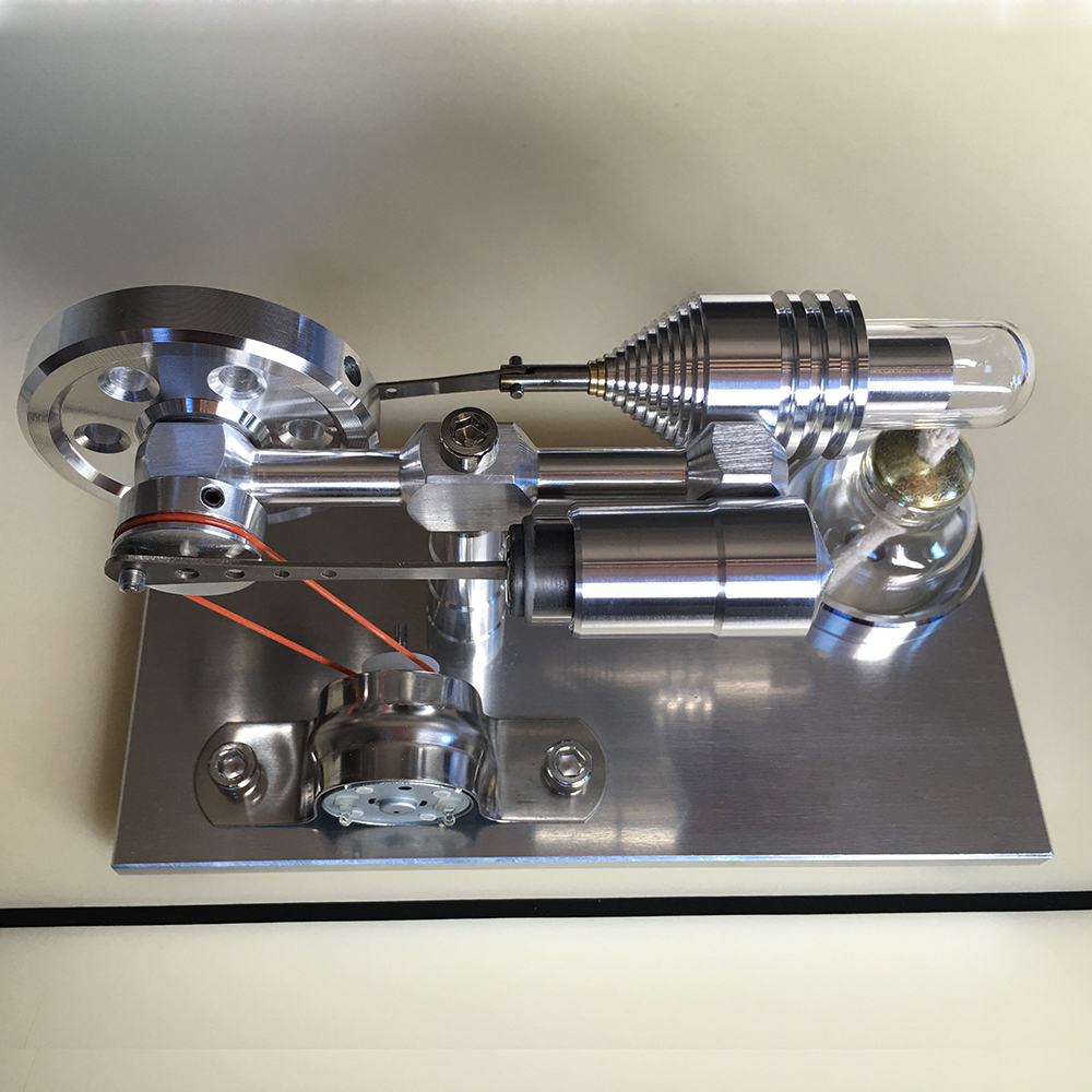 Stirling engine External combustion engine Generator Steam engine Engine Physical science experiment teaching model