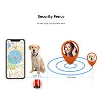 Pets Smart GPS Tracker collar Anti Lost Waterproof Bluetooth Tracer For Pet Dog Cat Kids Finder Equipment bluetooth tracker