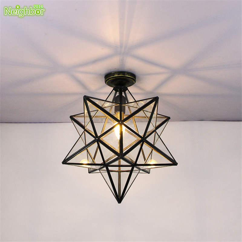 Modern LED Star Ceiling Light Corridor Aisle Hallway Lamp Living Room  Indoor Lighting Fixture For Kitchen