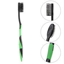 4pcs Bamboo Charcoal Toothbrush Oral Dental Care Soft Nano Teeth Brush Set Dental Care Soft Charcoal Brush Oral Care Toothbrush