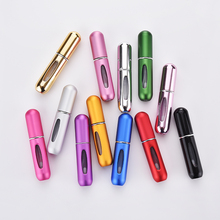Travel Mini Refillable Conveniet Perfume Bottles Empty Atomizer Scent Pump into parfum airless pump cosmetic container 5cc