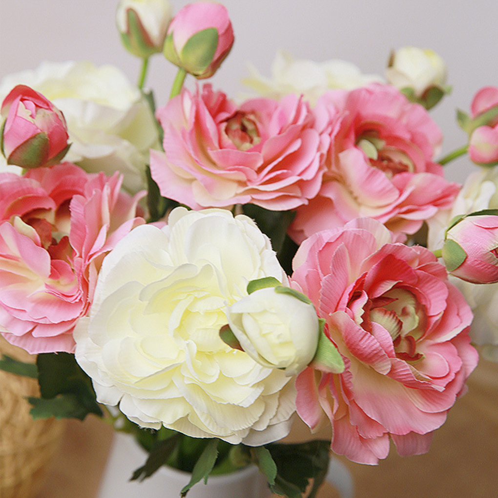 Aliexpress Buy Flowers Lotus Artificial Rose Wedding Floral