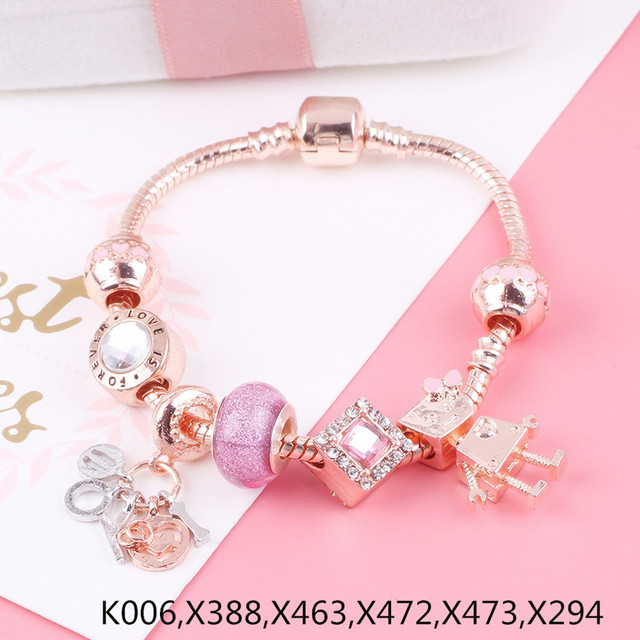 AIFEILI Rose Gold Bracelet...