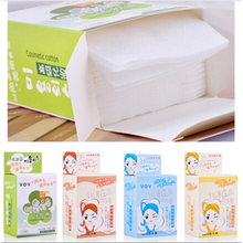 1 Box Professional Cleansing Soft Cotton Beauty Tools Packed Primary Colors Bamboo Fiber Skin Care Makeup Remover Cotton