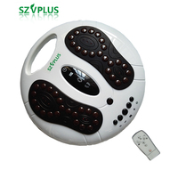 Chinese meridian foot massager EMS Belt TEN circulation booster low frequency pulse Tourmaline reflexology spa acupuncture