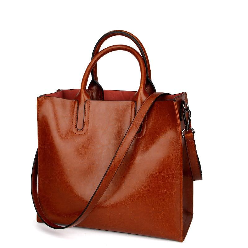 Zency الأزياء الشهيرة العلامة التجارية النساء حمل أكياس التسوق المرأة الثانية طبقة جلد البقر الكتف رسول حقيبة-في حقائب قصيرة من حقائب وأمتعة على  مجموعة 3