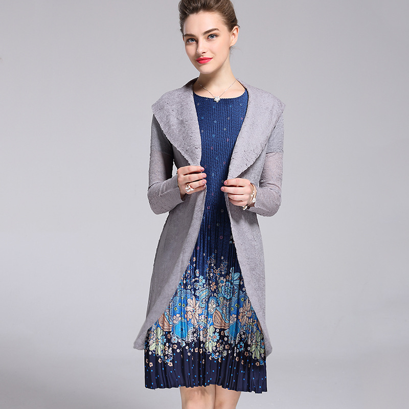 Long sleeve font b blouse b font commuter career suits brought fashion female temperament coat of