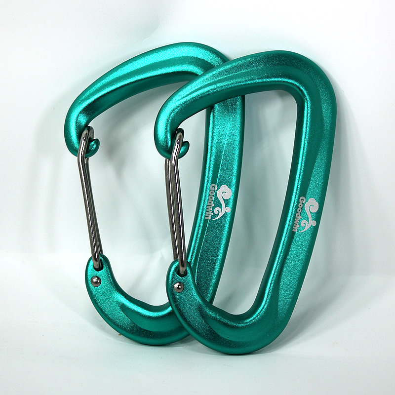 Aluminum D Hammock Safety Balance Buckle, Backpack Buckle, Water Bottle Button, Mountaineering Button, Hammock Buckle.