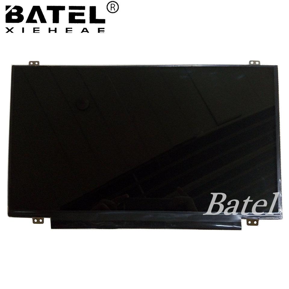 LP156WHU TPF1 30Pin eDP Slim Laptop LCD Screen LCD Matrix Glare Glossy 1366x768 LP156WHU TP F1