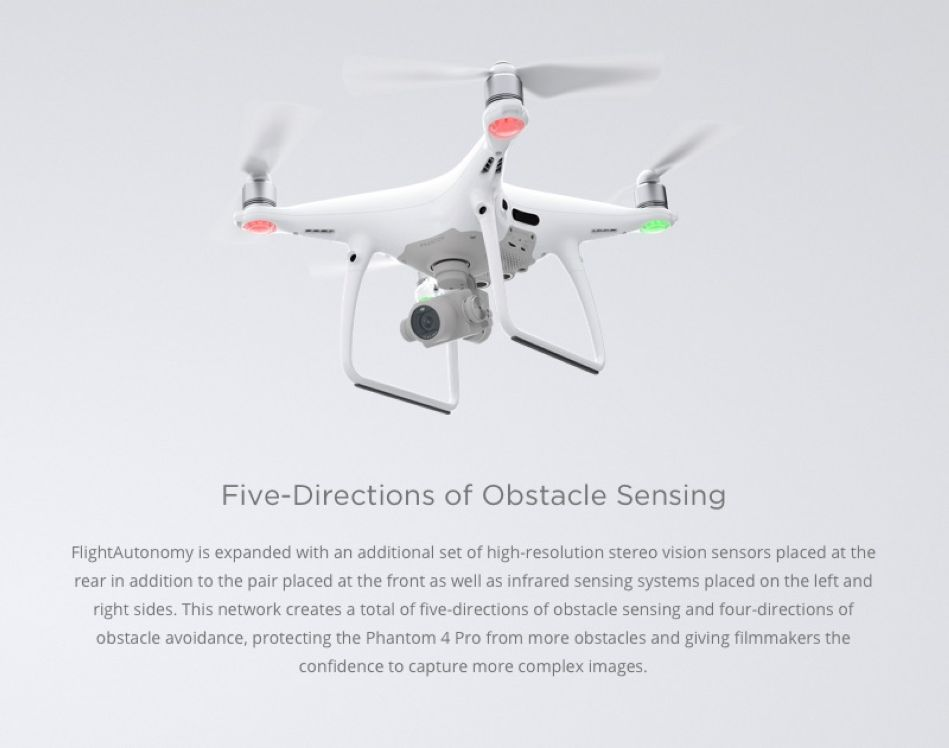 X4 DJI Phantom 4 Pro Drone