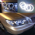 Для Hyundai azera 2006-2010 Отлично led angel eyes Ultrabright освещения smd led Angel Eyes Halo Кольцо комплект