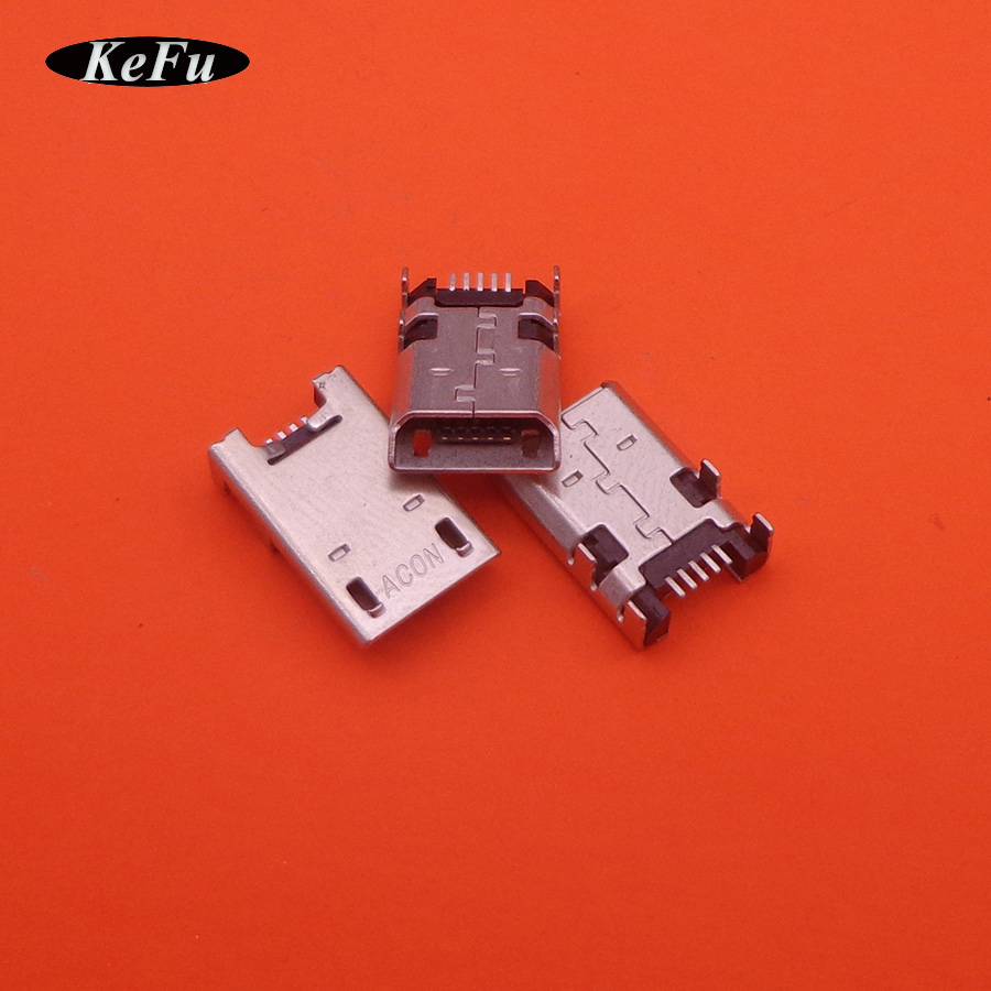 5pcs Micro Mini USB Charging Port Dock Jack Socket Connector Repair Parts For Asus ME302C Fonepad 7 ME372CG ME176C ME176X K013