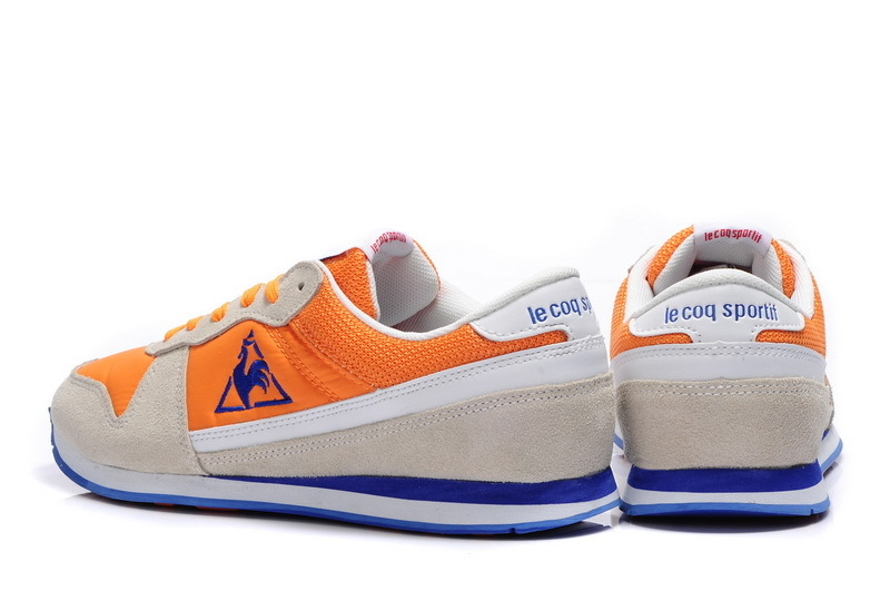 6feec3814857 ... coupon for free shipping new styles le coq sportif mens running shoes  sneakers beige orange blue