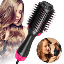 New 2-in-1 Universal Hair Dryer and Rotating Curling Hair Curlers with Straight Hair Curly Combs with Hot Air