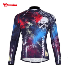 Tasdan Sportswear Mens Cycling Clothing Long Sleeve Mountain Bike Jersey Wear Road Clothes Men