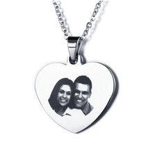 Personalized Photo Tag Necklace