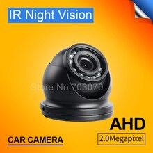 Pequeno Mini Câmera 2.0MP Frete Grátis Dom AHD Camera Bus Com 3.6 MM Lente IP68 À Prova D' Água IR Night Vision Interior câmera