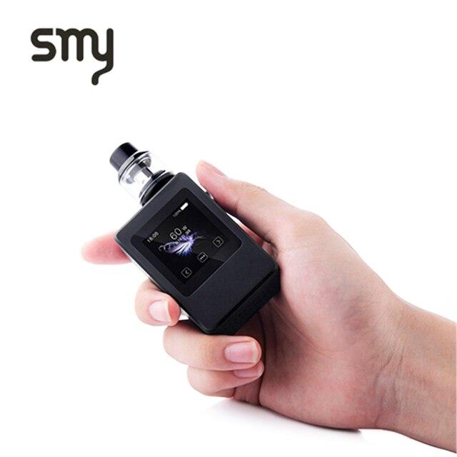SMY 60 Вт мини Контроль температуры электронная сигарета 2.0 мл распылитель TC поле mod VAPE ручка электронная кальян VAPE ручка
