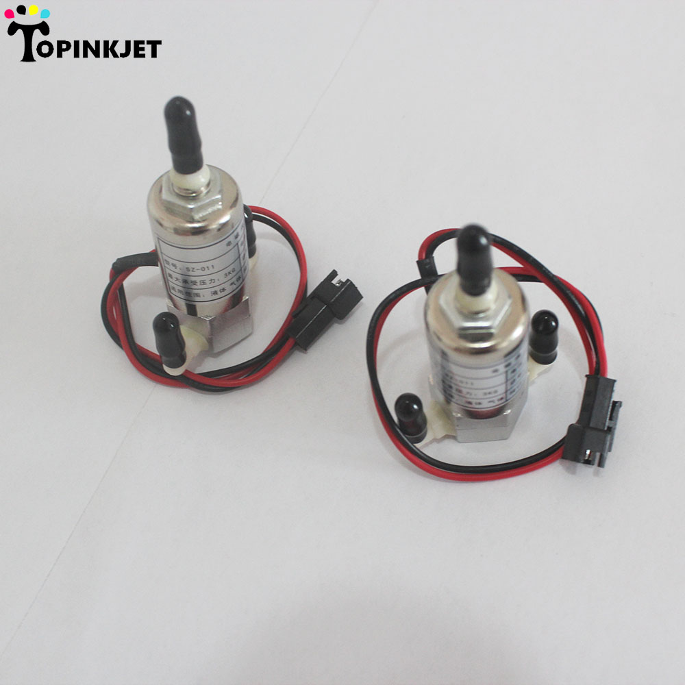 8W Infiniti solenoid valve for Infiniti Witcolor Graphtec Allwin printer solenoid valve