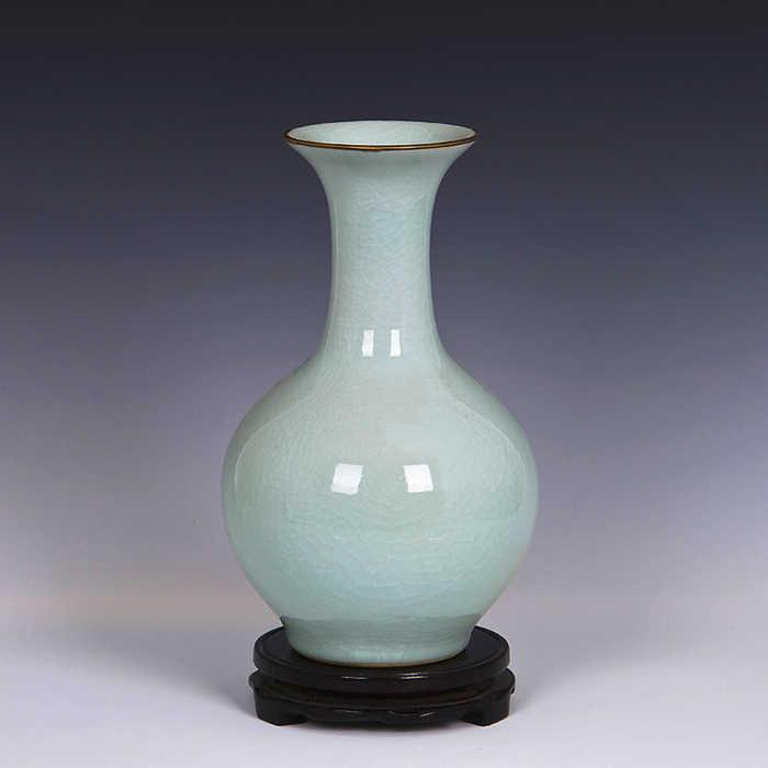 Jingdezhen Keramik Vintage Merangkai Bunga Vas Cina Baru Ruang Tamu Perabot Rumah Antik Dekorasi Kerajinan