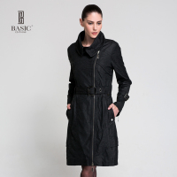 BASIC 2015 Autumn Winter New Fashion Women S Cotton Long Parkas Coat B918B03
