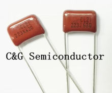 Полипропиленовые конденсаторы, 10 шт., CBB 223K 223J 630V 223 630V 223 0,022 мкФ 630V 22nF 630V