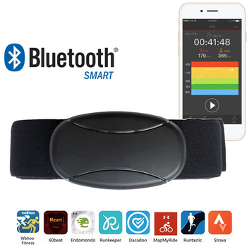 Bluetooth Heart Rate Monitor Chest Strap Belt Pulsometro Polar Wahoo Runtastic BLE Heart Rate Sensor Pulse Meter Fitness Band фото