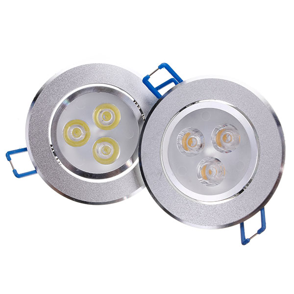 9W/12W/15W Bright LED Recessed Ceiling Lamp With LED Driver Down Light Fixture Living Room Home Warm White Lighting 12w 3500k 1050 lumen 12 led warm white light ceiling down lamp ac 100 245v
