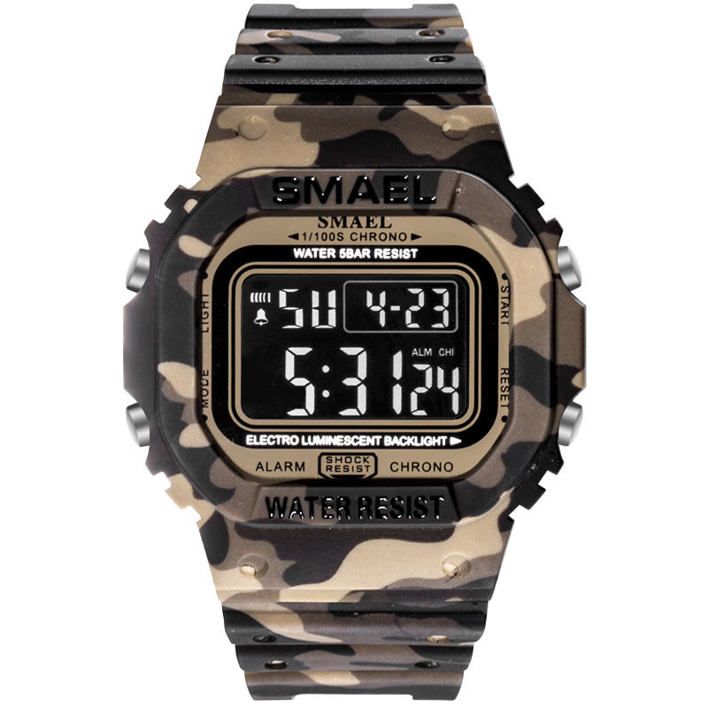 Stopwatch Strap Alarm Masculino Digital Outdoor Men's Top-Brand WD Casual Dial Analog